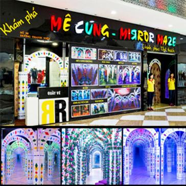 Thế Giới Giải Trí - Vé Khám Phá Mê Cung Mirror Maze - Royal City