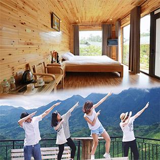 Sapa Garden Resort 2N1Đ + Vé Xe Khứ Hồi HN - Sapa - Áp Dụng Cho 01 Người