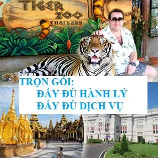 Tour Trọn Gói Đầy Đủ Dịch Vụ – Thái Lan 5N4Đ Siêu Khuyến Mãi – Bangkok – Pattaya – Tặng BBQ Hải Sản - Lẩu Suki – Buffet Xoay 86 Tầng - Trại Hổ Tiger Zoo - Tòa Nhà Tỷ Phú