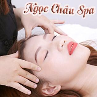 Miễn Tip - Trọn Gói Massage Body Ấn Huyệt Tặng Kèm Đắp Mặt Nạ Collagen Vàng/ Cánh Hoa Hồng - Mua 5 Tặng 1 Tại Ngọc Châu Spa