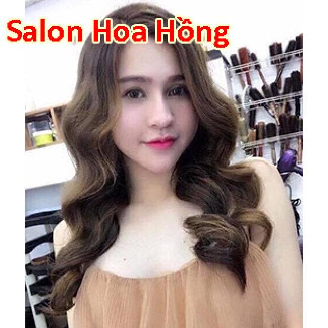 Salon Hoa Hồng - 10 Năm Uy Tín, Chất Lượng - Trọn Gói Làm Tóc Cao Cấp - Tặng Hấp Dầu