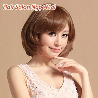 Hair Salon Ngọc Mai - Trọn Gói Làm Tóc + Phục Hồi Tóc Cao Cấp - Tặng Hấp Dầu