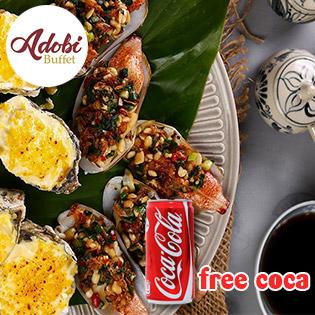 Dùng Tiệc Adobi Buffet - Ngon Từ Biển Tươi Tại Bàn - Free Coca