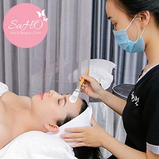 Saho Beauty - Buffet Da Đẹp – Eo Thon Thỏa Mái Lựa Chọn 1 Trong 4 Dịch Vụ Cao Cấp 100 Phút
