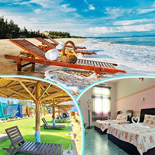 [Honeymoon] Saint Mary Beach Resort 3* Phan Thiết 2N1Đ - Phòng Deluxe Ocean View + 02 Bữa Ăn