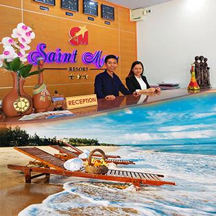 Saint Mary Beach Resort 3* Phan Thiết 2N1Đ - Phòng Front Sea Wooden Bugalow