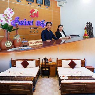 Saint Mary Beach Resort 3* Phan Thiết 2N1Đ - Phòng Family Bungalow Garden View
