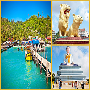 Tour Campuchia 4N3Đ – Biển Đảo xinh đẹp – Biển Shihanouk – Cao nguyên BoKor – Đảo Kohrong - Khách sạn 3 sao – 5 sao - Buffet Lẩu Băng Chuyền