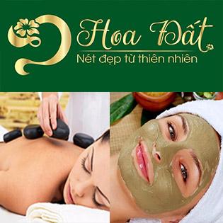 5 Combo 90': Cấy Tảo Xoắn/ CSD + Massage Mặt Đá Nóng/ Trị Mụn/ Hấp Sáng Body/ Massage Body Đá Nóng - Spa Hoa Đất