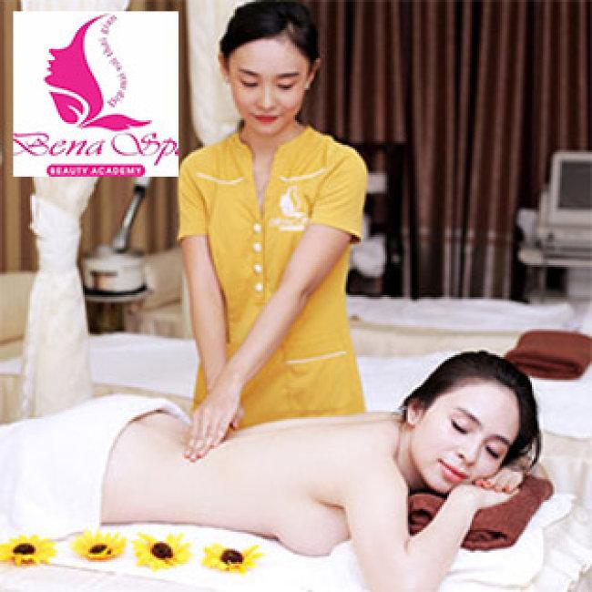 KM Sốc: 100 Phút Massage Body & Foot Đá Nóng, Đắp Mặt Nạ Tại Bena Spa 1