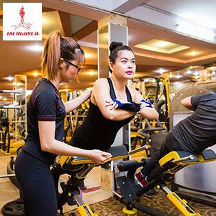 Hệ Thống 8 CN Gym Tài Nguyên - Thẻ Tập Gym 01 Tháng Không Giới Hạn Thời Gian + 01 Buổi Huấn Luyện Viên Cá Nhân