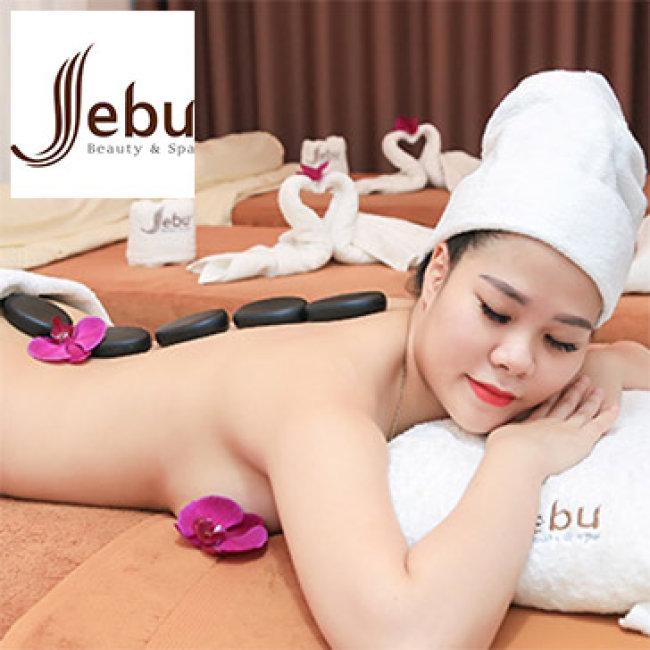 (100') Massage Body + Foot + Xông Hơi + Ngâm Chân + Đắp Mặt Nạ - Jebu Beauty & Spa 5*