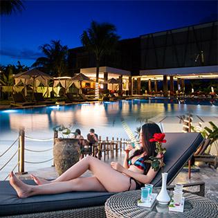 The Palmy Resort Phú Quốc 4* 2N1Đ Phòng Deluxe + Bao Gồm Ăn Sáng Dành Cho 02 Khách Và 01 Trẻ Em Dưới 6 Tuổi