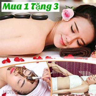 SỐC - Mua 1 Tặng 3 - Body Tẩy Massage + Facial + Phục Hồi Keratin Tóc Cao Cấp + Gội Đầu Thư Giãn - Ưu Đãi Giới Hạn Chỉ Có Tại Beauty Center Nguyễn Linh