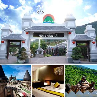 4N3Đ Tại Gold Hotel Đà Nẵng - Khám Phá Suối Khoáng Nóng Núi Thần Tài - Bà Nà Hill - Cho 01 Người