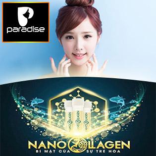 Vi Kim Nano Collagen Bí Mật Trẻ Hóa, Căng Da, Tái Sinh Làn Da Số 1 Thế Giới Tại Paradise Spa