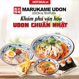 Hệ Thống 8 Chi Nhánh Marukame Udon – Thương Hiệu Mì Udon Số 1 Thế Giới, Ưu Đãi Lớn Chỉ Có Tại Hotdeal