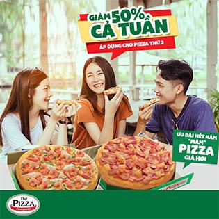 Hệ Thống The Pizza Company - Không Giới Hạn Voucher - Áp Dụng Lễ Tết Và Khuyến Mãi Khác