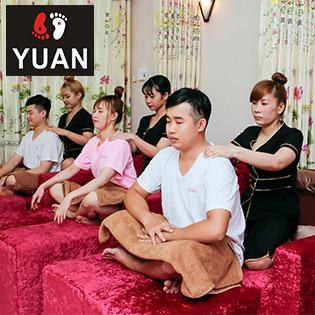 Yuan Massage - Trọn Gói VIP Bấm Huyệt Shiatsu Kiểu Nhật Kết Hợp Thái Massage Và Massage Đá Nóng