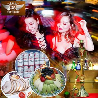 Combo VIP Ăn Chơi Tẹt Ga, Nghe Nhạc Cực Đã Cho 2 - 6 Người Tại 35 Club TopNight Hàng Đầu Sài Gòn