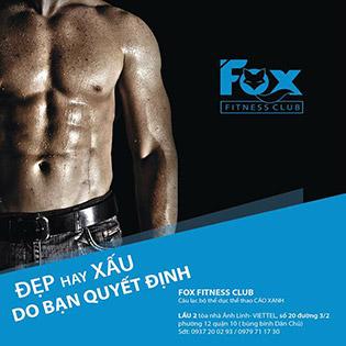 Fox Fitness – 02 Tháng Tập Gym, Yoga Không Giới Hạn Thời Gian