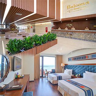 Balcona Hotel Đà Nẵng 4* - 2N1Đ - Ăn Sáng Buffet - Miễn Phí Hồ Bơi, Phòng Tập - Dành Cho 02 Khách.