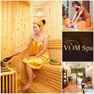 Vòm Spa – Miễn Tip 120 Phút Massage Body Thư Giãn Aroma Kết Hợp Đá Nóng + Xông Hơi + Đắp Mặt Nạ