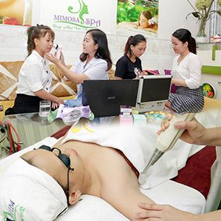 Tắm Trắng Huyết Yến Hàn Quốc/ Công Nghệ Diode Laser Giúp Trẻ Hóa Làn Da Dưới Cánh Tay Chỉ Có Tại Mimosa Spa