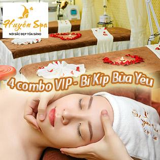 Combo Vip 90 Phút Thải Độc Da Bio Detox/ Mụn/ Massage Body Đá Nóng/ Hấp Sáng Body Độc Quyền Tại Huyền Spa