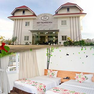 Hồng Môn Villa 3* Đà Lạt 3N2Đ - Gồm Ăn Sáng + Ăn Trưa Cho 2 Khách