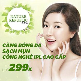 Thương Hiệu Nature Republic Nổi Tiếng Hàn Quốc Căng Bóng Da, Sạch Mụn, Trắng Sáng Ngay Lần Đầu Tiên