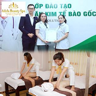 (Sen's House Spa) 100 Phút Buffet 8 Dịch Vụ Massage Body, Foot, Chạy Tảo Biển Độc Quyền Tại Adela Beauty Spa