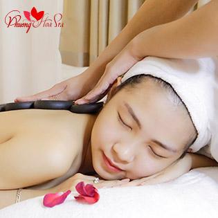 Phương Hoa Spa – Combo 1 Trong 2 DV: Massage Body Đá Nóng/ Điều Trị Mụn, Lấy Sạch Nhân Mụn