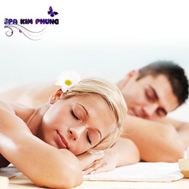 100 Phút Massage Body & Foot Đá Nóng, Chăm Sóc Da - Kim Phụng Spa