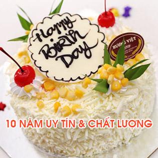 Bánh Kem Bắp Tươi Phô Mai Cao Cấp Tại Hương Việt Bakery - 10 Năm Khẳng Định Thương Hiệu