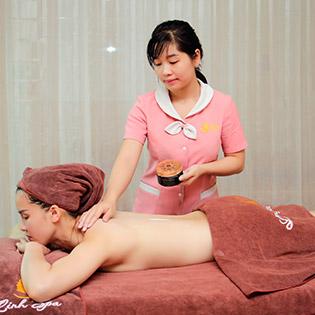 Massage Quận 6 – 110' Massage Body Đá Nóng + Dưỡng Trắng Da 100% Tăng Mức Độ Trắng Sáng Tại Linh Spa