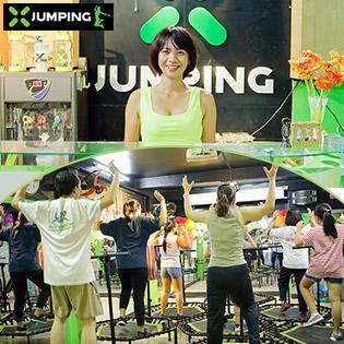 X-Jumping – Môn Thể Thao Độc Đáo Từ Châu Âu Giúp Phái Đẹp Lấy Lại Vòng Eo Con Kiến