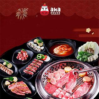 Hệ Thống Aka House 7 Chi Nhánh - Buffet Nướng Lẩu Nhật Bản