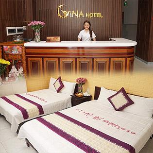 Gina Hotel Đà Nẵng - 2N1Đ - Dành Cho 02 Khách - Miễn Phí Trang Trí Phòng Honey Moon