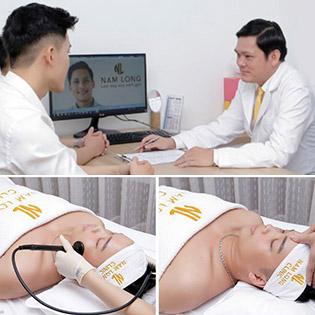 Nâng Cơ + Tan Mỡ + Xóa Nếp Nhăn Vùng Mặt Cho Nam Giới Tại Nam Long Clinic - Viện Thẩm Mỹ Cho Nam Giới