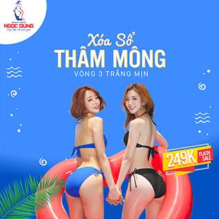 Hệ Thống Ngọc Dung - Top TMV Uy Tín Tại Việt Nam - Điều Trị Thâm Mông/ Bẹn CN Laser - Tái Tạo Vòng 3