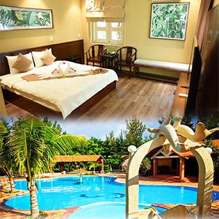 Bàu Mai Resort (Apricot Resort Kê Gà, Phan Thiết) 3*- 2N1Đ - Phòng Cao Cấp Khu Biển – Gồm Ăn Sáng – Không Áp Dụng Lễ Tết