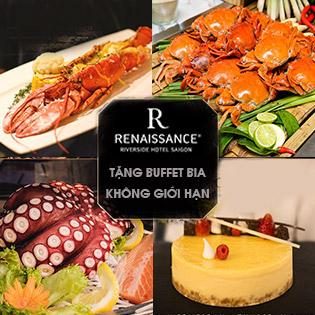 Buffet Tối Hải Sản Tôm Hùm Tại Nhà Hàng Viet Kitchen Thuộc Khách Sạn 5 Sao Renaissance Riverside Sài Gòn