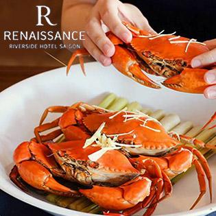 Áp Dụng Lễ - Buffet Trưa Hải Sản Cao Cấp Tại Khách Sạn 5 Sao Renaissance Riverside Sài Gòn - Bao Gồm Nước Uống