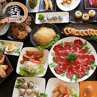 Buffet Trưa/ Tối Cao Cấp Sashimi, Sushi, Lẩu Và Tinh Hoa Món Nhật Tại Annz Japanese Dining