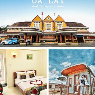 Khách sạn Full Moon Đà Lạt 3N2Đ – Tặng Tour City 1 Ngày - Gồm Ăn Sáng Dành Cho 02 Khách - Gần Chợ Đà Lạt
