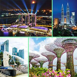 Tour Cực Hot Singapore – Malaysia 5N4Đ Tặng BBQ Hàn Quốc – Suất Ăn Nhẹ Tại Sân Bay – Tham Quan Thủy Cung – Công Viên Sư Tử - Tháp Đôi Twin Tower – KS 4 Sao Tại Malaysia