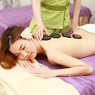 Miễn Tip - (100') Massage Body + Foot + Xông Hơi + Chạy Vitamin C + Đắp Mặt Nạ/ Điều Trị Mụn, Thâm - Dragon Spa