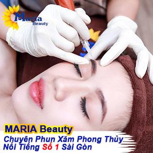 Điêu Khắc 3D Chân Mày Công Nghệ Hàn Quốc Cao Cấp Độc Quyền - Maria Beauty Spa - Bàn Tay Vàng Phun Xăm Thẩm Mỹ Theo Phong Thủy