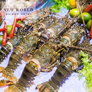 New World Saigon Hotel 5 sao - Parkview Buffet Hải Sản Tôm Hùm Cao Cấp - Gồm Buffet Nước